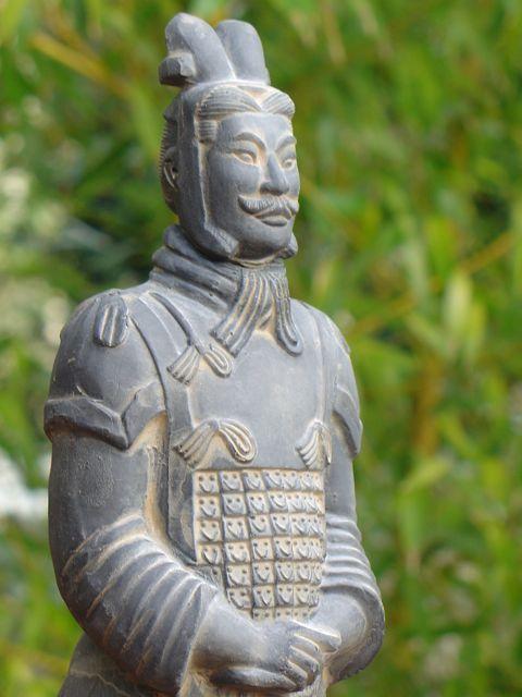 Soldat De Xian En Terre Cuite Le G 233 N 233 Ral Tableau De