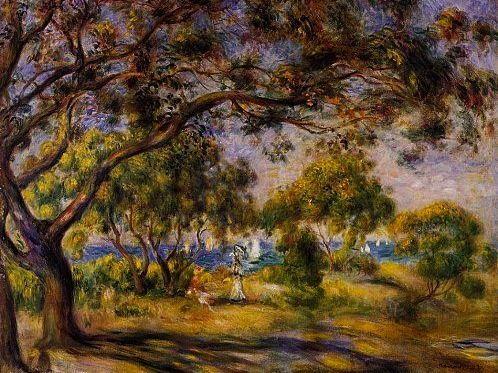 Auguste Renoir, Noirmoutier : tableau de GRANDS PEINTRES ...