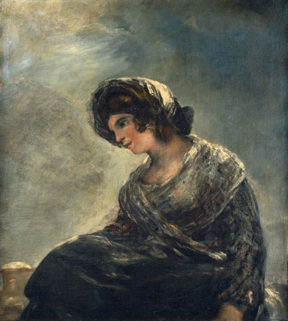 Francisco De Goya La Laitiere De Bordeaux Tableau De Grands Peintres Et Peinture De Goya