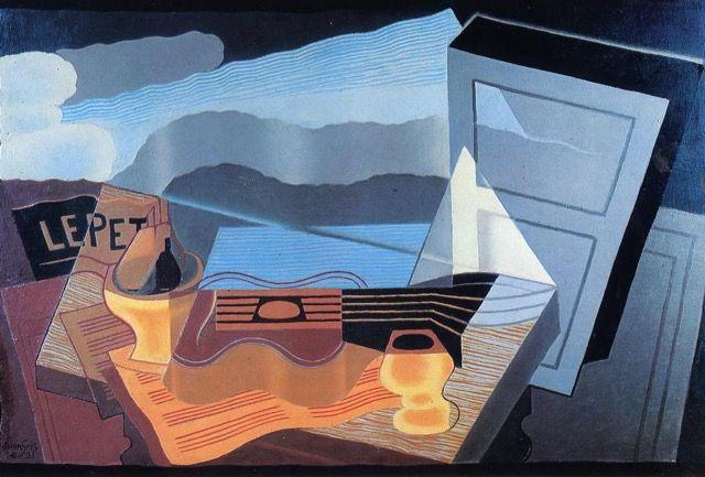 Juan Gris Vue Sur La Baie Tableau De Et Peinture De Gris