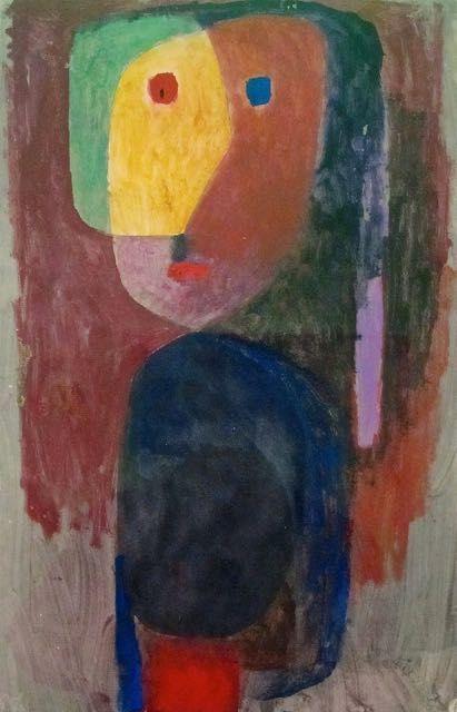 Paul Klee Figure Le Soir Tableau De Et Peinture De Klee