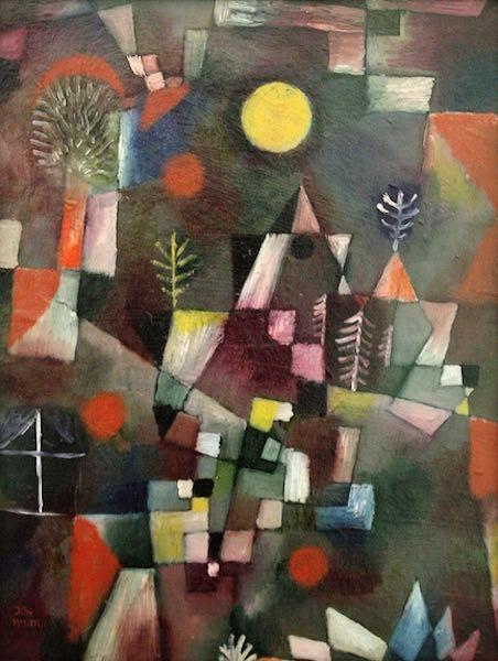 Paul Klee Pleine Lune Tableau De Et Peinture De Klee