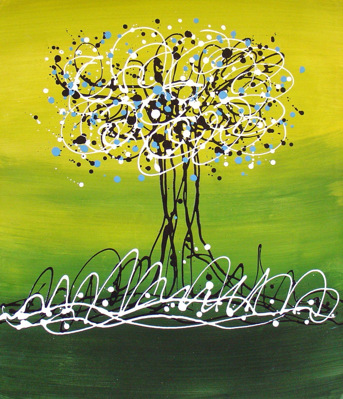 Nature et Flore, L'arbre en folie : tableau de PEINTURES et peinture de Tableaux Nature-Flore