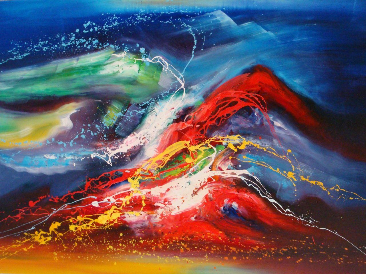 Mer et oc ans raz de mar e tableau de peintures et for Peinture qualite