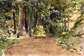 Albert Anker, Forêt - GRANDS PEINTRES / Anker