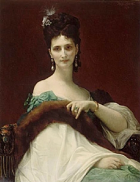 Alexandre Cabanel, Comtesse de Keller - GRANDS PEINTRES / Cabanel