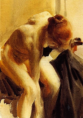 Anders Zorn, Nu féminin - GRANDS PEINTRES / Zorn