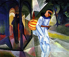 August Macke, Pierrot - GRANDS PEINTRES / Macke