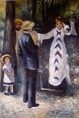 Auguste Renoir, La balançoire - GRANDS PEINTRES / Renoir