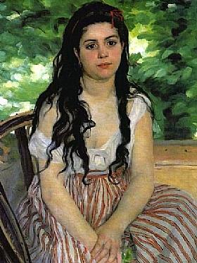 Auguste Renoir, Lise ou La bohémienne - GRANDS PEINTRES / Renoir