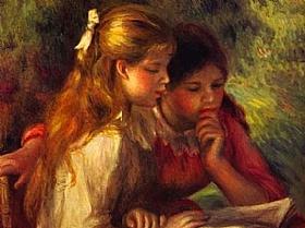 Auguste Renoir, La lecture - GRANDS PEINTRES / Renoir