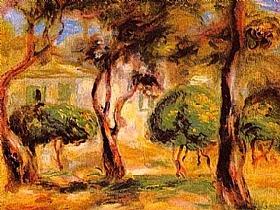 Auguste Renoir, Le jardin des Collettes - GRANDS PEINTRES / Renoir