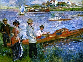 Auguste Renoir, Les Canotiers à Chatou - GRANDS PEINTRES / Renoir