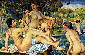 Auguste Renoir, Les grandes baigneuses - GRANDS PEINTRES / Renoir