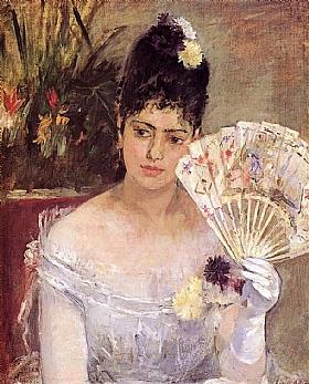 Berthe Morisot, Jeune fille au bal - GRANDS PEINTRES / Morisot