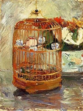 Berthe Morisot, La cage - GRANDS PEINTRES / Morisot