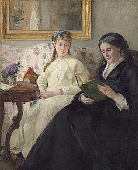 Berthe Morisot, La lecture - GRANDS PEINTRES / Morisot