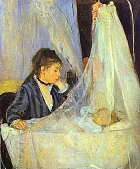 Berthe Morisot, Le berceau - GRANDS PEINTRES / Morisot