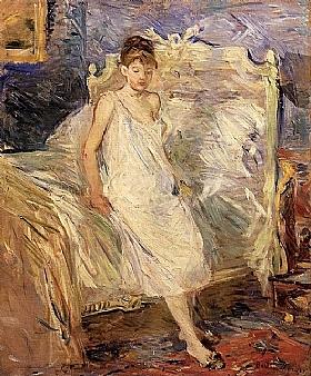 Berthe Morisot, Le lever - GRANDS PEINTRES / Morisot