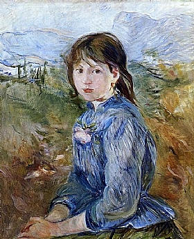 Berthe Morisot, Paysanne niçoise - GRANDS PEINTRES / Morisot
