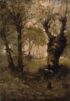 Berthe Morisot, Vieux chemin à Auvers - GRANDS PEINTRES / Morisot