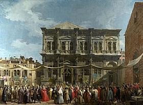 Canaletto, Fete de Saint Roch - GRANDS PEINTRES / Canaletto