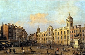 Canaletto, Northumberland House - GRANDS PEINTRES / Canaletto