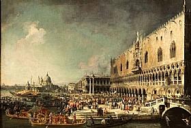 Canaletto, Reception Ambassadeur Bolognos - GRANDS PEINTRES / Canaletto