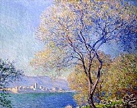 Claude Monet, Antibes vu de Salis - GRANDS PEINTRES / Monet
