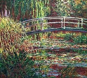 Claude Monet, Les Nymphéas harmonie rose - GRANDS PEINTRES / Monet