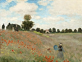 Claude Monet, Coquelicots - GRANDS PEINTRES / Monet