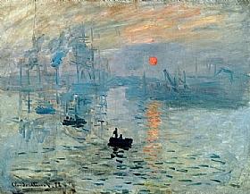 Claude Monet, Impression soleil levant - GRANDS PEINTRES / Monet