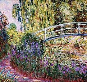 Claude Monet, Nymphéas - Iris d'eau - GRANDS PEINTRES / Monet