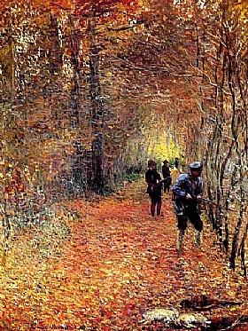 Claude Monet, La chasse - GRANDS PEINTRES / Monet