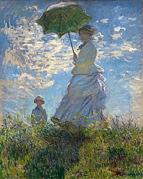 Claude Monet,La promenade - GRANDS PEINTRES / Monet