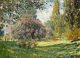 Claude Monet, Le parc Monceau - GRANDS PEINTRES / Monet