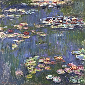 Claude Monet, Les Nymphéas - GRANDS PEINTRES / Monet