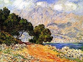 Claude Monet, Menton vu de Cap Martin - GRANDS PEINTRES / Monet