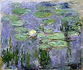 Claude Monet, Nymphéas - GRANDS PEINTRES / Monet