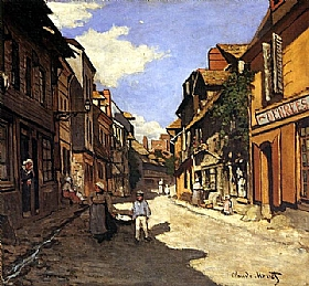 Claude Monet, Rue de la Bavolle à Honfleur - GRANDS PEINTRES / Monet
