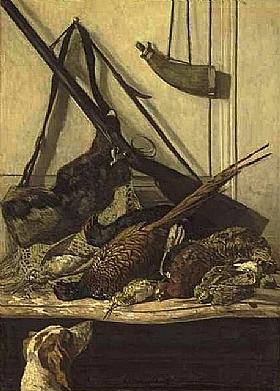 Claude Monet, Trophée de chasse - GRANDS PEINTRES / Monet