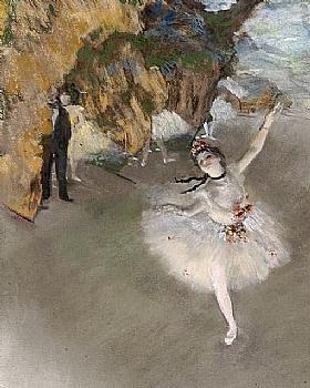 Edgar Degas, L'Etoile ou Danseuse sur Sc�ne-GRANDS PEINTRES-Degas
