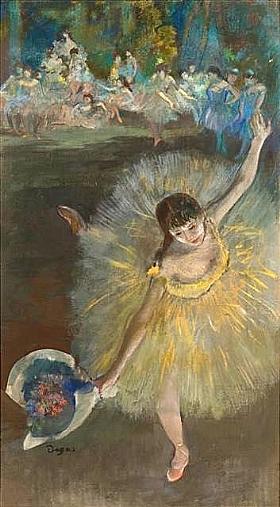 Edgar Degas, Fin d'arabesque - GRANDS PEINTRES / Degas