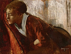 Edgar Degas, Mélancolie - GRANDS PEINTRES / Degas