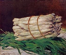 Edouard Manet, Une botte d'asperges - GRANDS PEINTRES / Manet