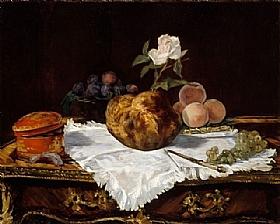 Edouard Manet, La brioche - GRANDS PEINTRES / Manet
