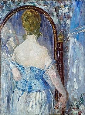 Edouard Manet, devant la glace - GRANDS PEINTRES / Manet