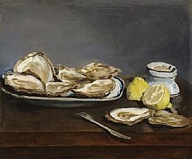 Edouard Manet, Huitres - GRANDS PEINTRES / Manet