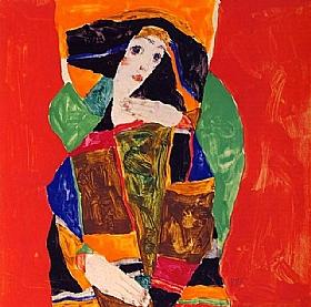 Egon Schiele, Portrait de femme - GRANDS PEINTRES / Schiele