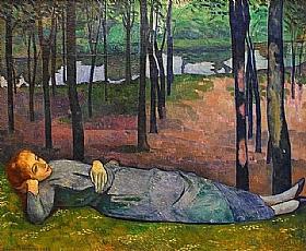 Emile Bernard, Madelaine au bois d'Amour - GRANDS PEINTRES / Bernard